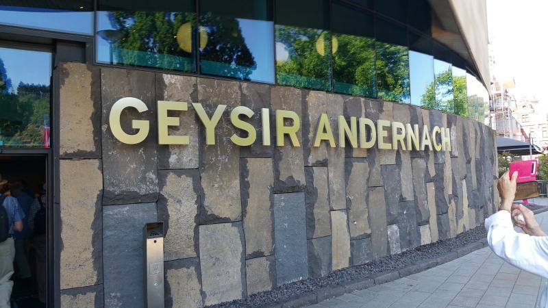 Eingang Geysir-Museum